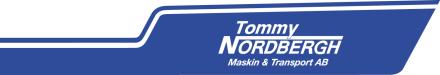 Tommy Nordbergh Maskin & Transport AB